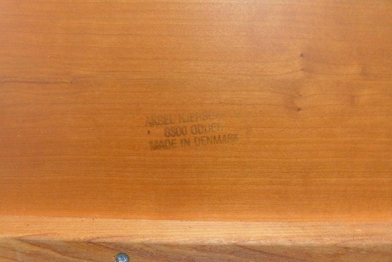Teak Vintage Adjustable Rolling Table or Workstation by Aksel Kjersgaard for Levenger For Sale
