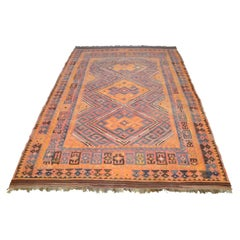 Vintage Afghan Tribal Kilim Rug
