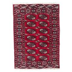 Vintage Afghan Turkmen Rug