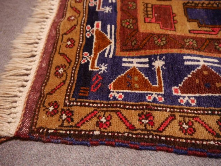 Vintage Afghan War Rug With Tanks And Helicopters At 1stdibs