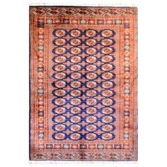 Vintage Afghani Bokhara Rug