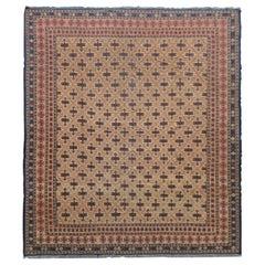 Vintage Afghani Soumak Rug