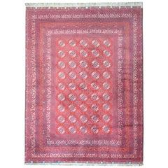 Vintage Afghani Turkoman Rug