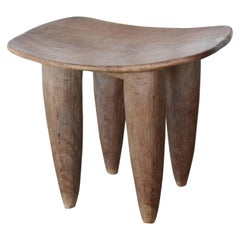 Vintage African Senufo Table, Coite d'Ivoire, Mid 20th Century