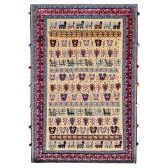 Vintage Afshar Rug