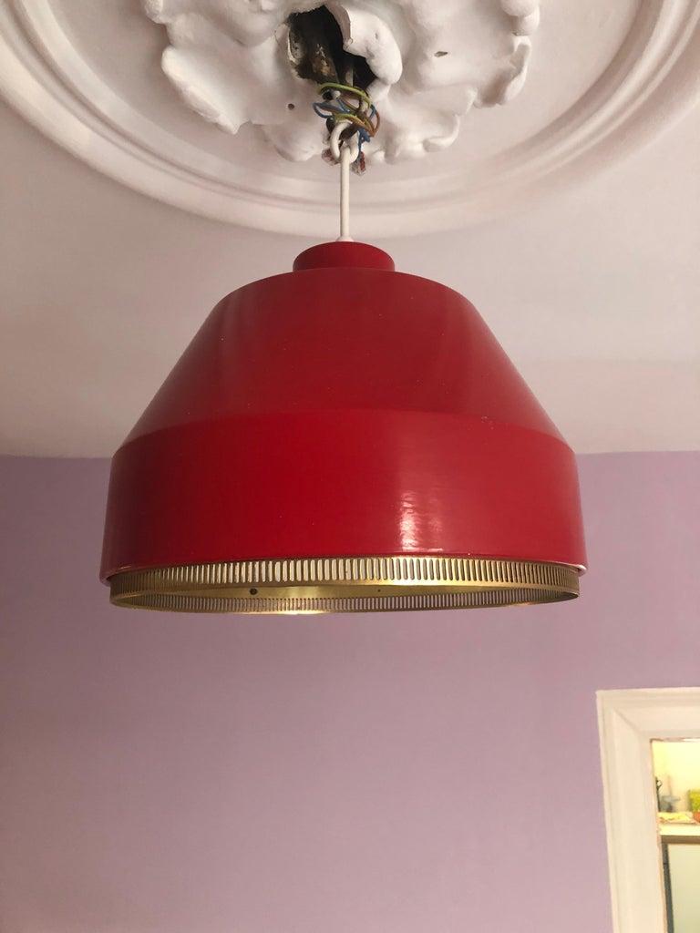 Mid-20th Century Vintage Aino Aalto Pendant Light