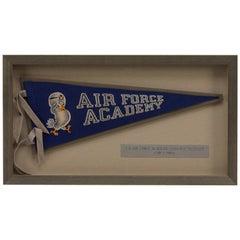 Vintage Air Force Academy Colorado Felt Pennant