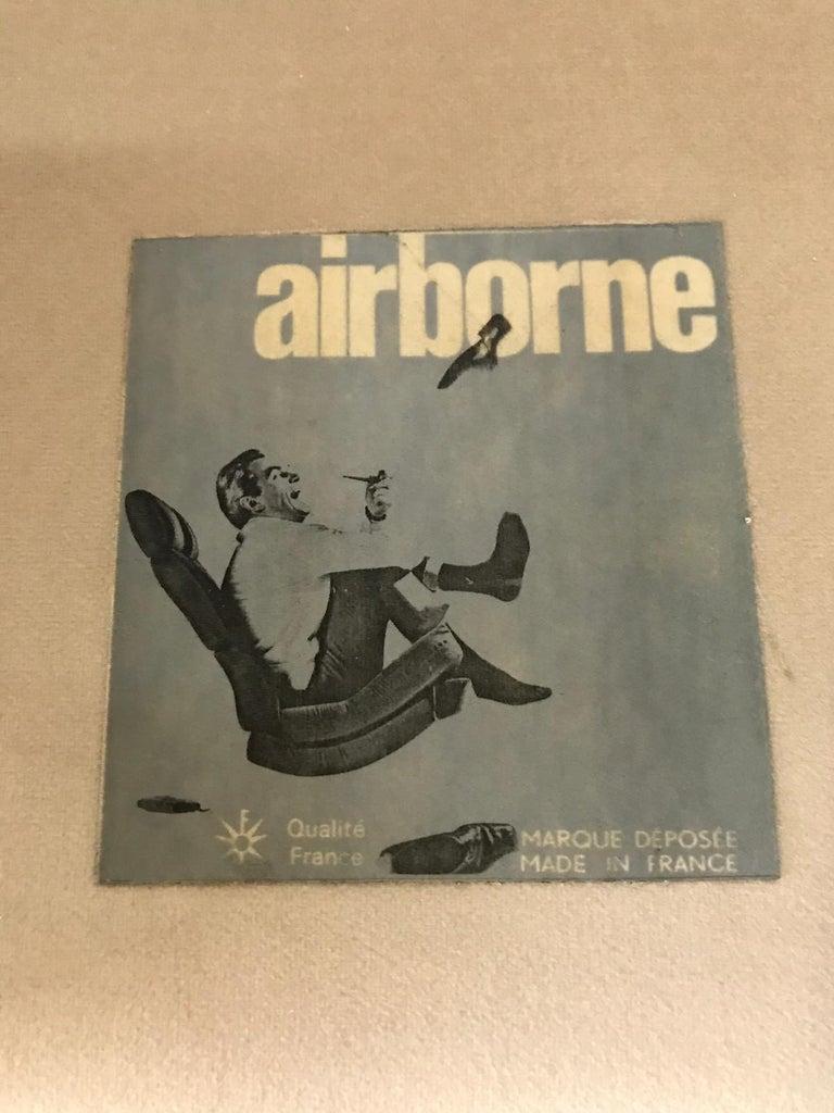 Vintage Airborne Italian Armchair For Sale 2