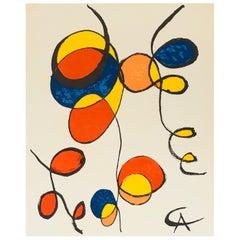 Vintage Alexander Calder Lithograph