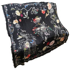 Vintage Alexander McQueen Scarf, made in Italy