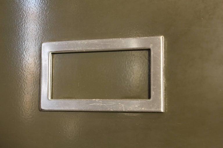 Vintage All-Steel Flat File Storage Cabinet For Sale 2