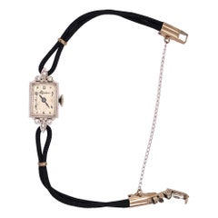Vintage Alpina Watch 17 Jewels 14 Karat Gold 1.6grams