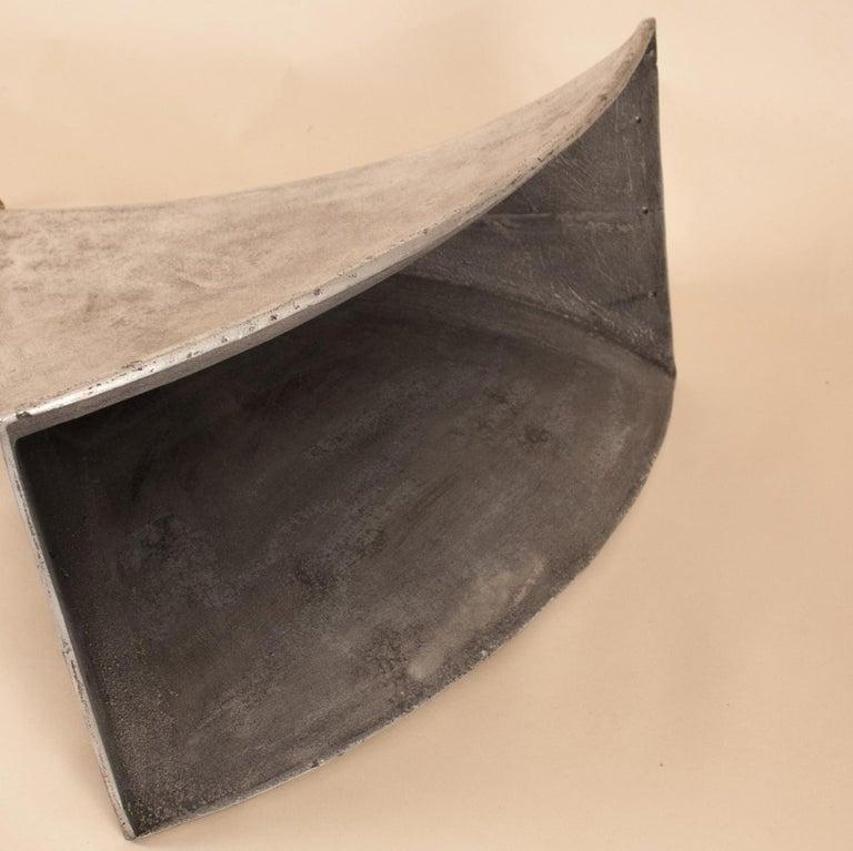 Vintage Aluminum Industrial Pendant Light For Sale 6