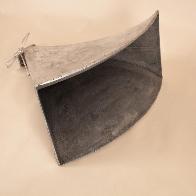 Vintage Aluminum Industrial Pendant Light For Sale 8