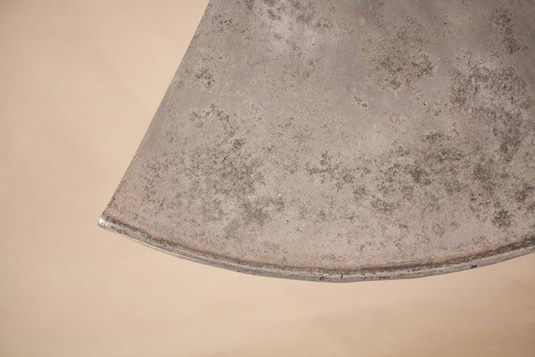 Vintage Aluminum Industrial Pendant Light For Sale 2