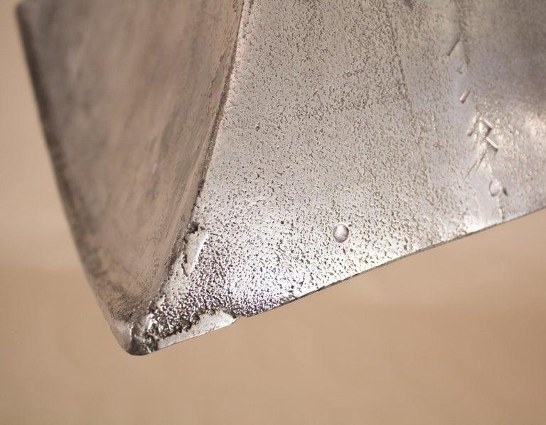 Vintage Aluminum Industrial Pendant Light For Sale 4