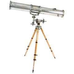 Vintage Aluminum Telescope
