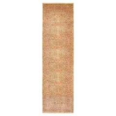 Vintage America Karastan Oriental Rug, in Gallery Size, Light Colors & Floral