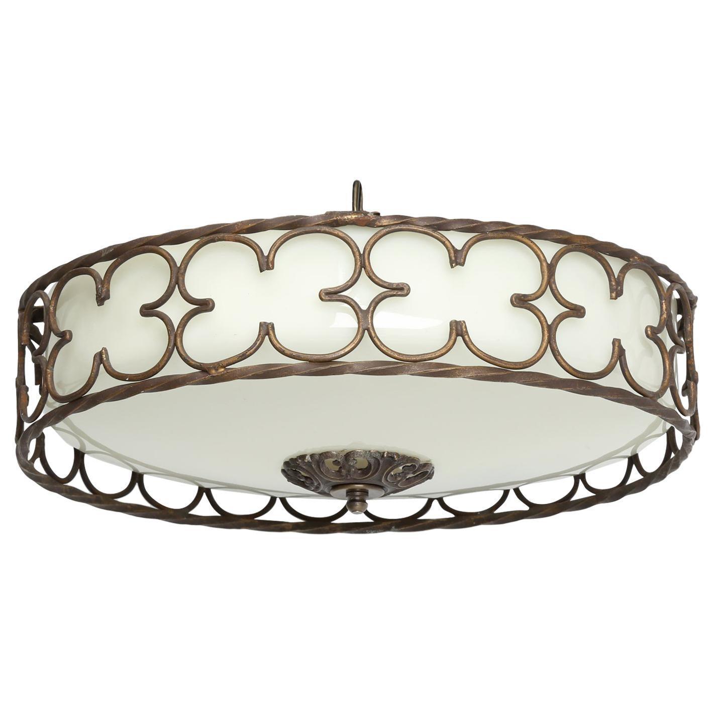 Vintage American Chandelier or Ceiling Light