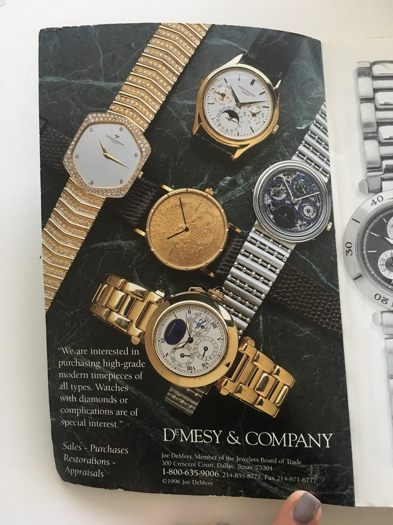 VOLUME 7: Vintage American & European Silver Anniversary Wristwatch Price Guide Published in 1996