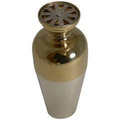 Vintage American Individual Cocktail Shaker by Napier, circa 1930