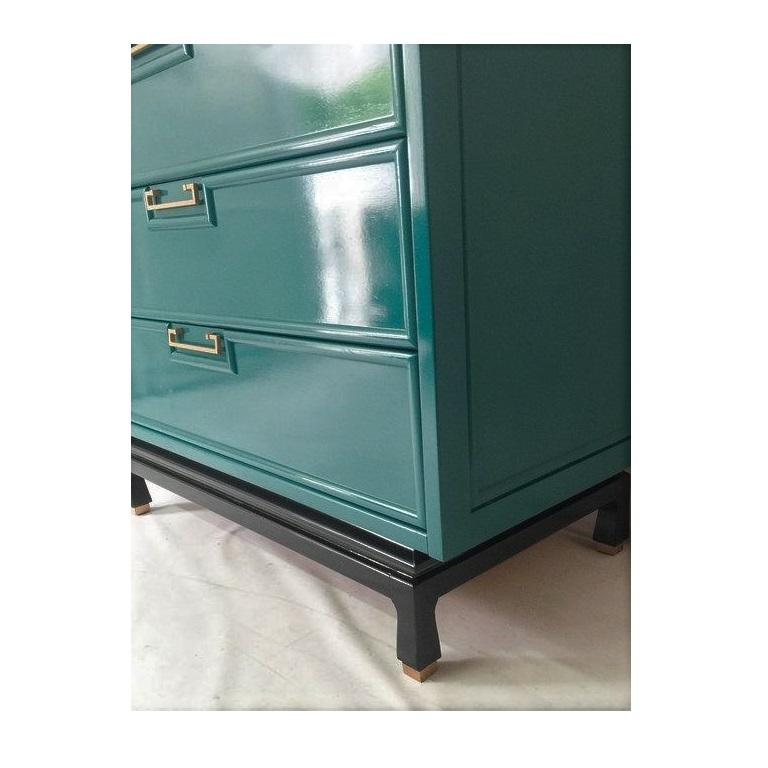 Mid-20th Century Vintage American of Martinsville Lacquered Dresser / Credenza For Sale
