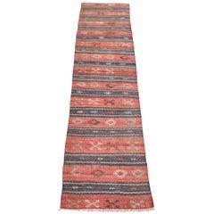 Vintage Anatolian Kelim Runner