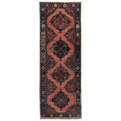 Vintage Central Anatolian Runner. Hand-knotted Wool Rug for Hallway