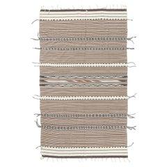 Vintage Anatolian Turkish Flat-Weave Kilim