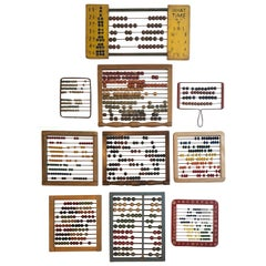 Vintage and Antique Colorful Child's Abacus Collection