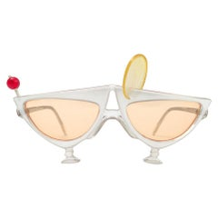 """Vintage Anglo American Optical """" GIN FIZZ """" Sunglasses 1970 Made in England"""