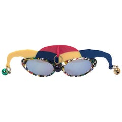 """Vintage Anglo American Optical """" JOKER """" Rare Sunglasses 1970 Made in England"""