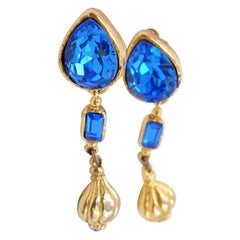 Vintage Antigona Paris Earrings 1980s