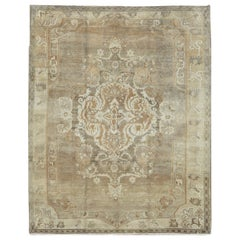 Vintage Antique Washed Turkish Rug