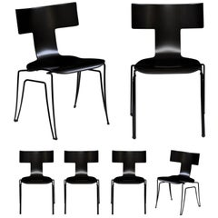 Vintage Anziano Dining Chairs by John Hutton for Donghia, a Pair or Six