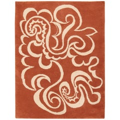 Vintage Arabesques after Picasso French Rug Commissioned by Marie Cuttoli