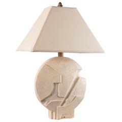 Vintage Architectural Plaster Lamp