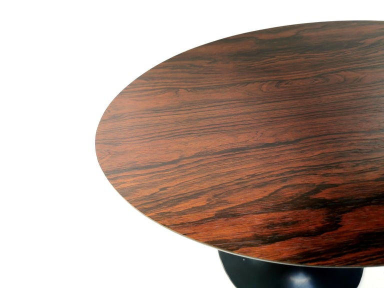 Mid-Century Modern Vintage Arkana Tulip Rosewood Coffee Occasional Table Midcentury, 1960s