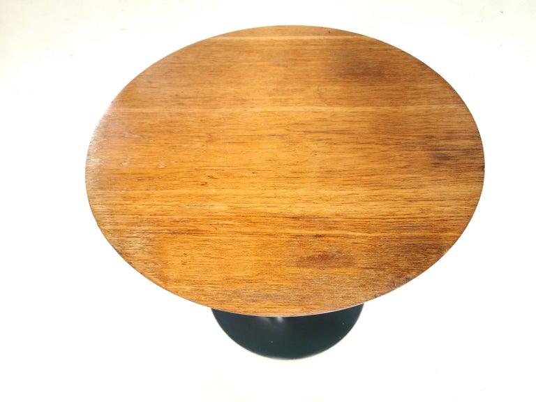 Vintage Arkana Tulip Teak Coffee Occasional Table Midcentury, 1960s 1