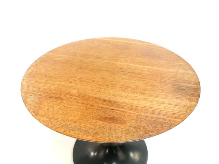 Vintage Arkana Tulip Teak Coffee Occasional Table Midcentury, 1960s 2