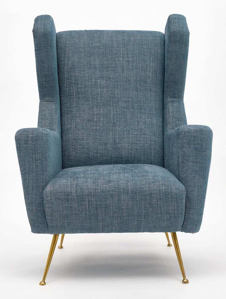 Vintage Armchairs in the Style of Carlo di Carli In Good Condition For Sale In Austin, TX