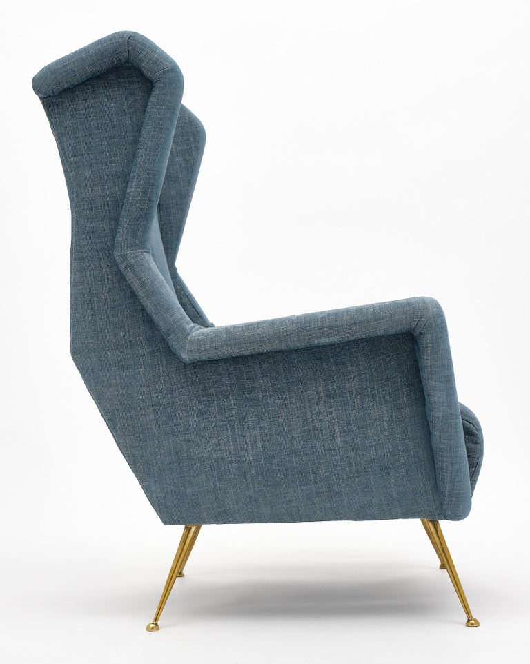 Vintage Armchairs in the Style of Carlo di Carli For Sale 1