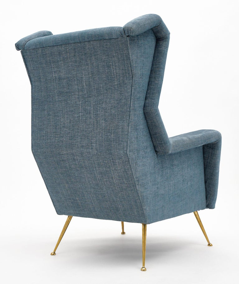 Vintage Armchairs in the Style of Carlo di Carli For Sale 2
