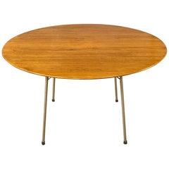 Vintage Arne Jacobsen for Fritz Hansen Model 3600 Teak Dining Table