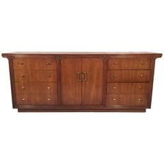 Vintage Art Deco 12-Drawer Dresser by Century
