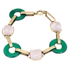 Art Deco Link Bracelets