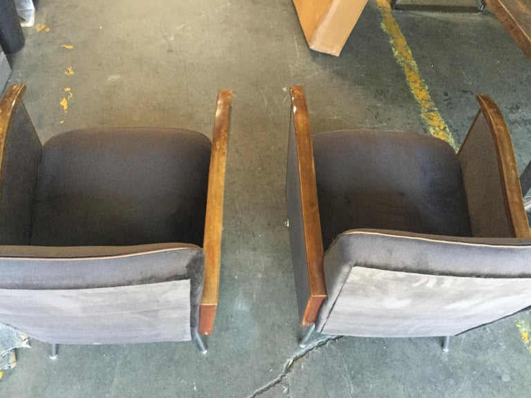 Mid-20th Century Vintage Art Deco Chairs For Sale
