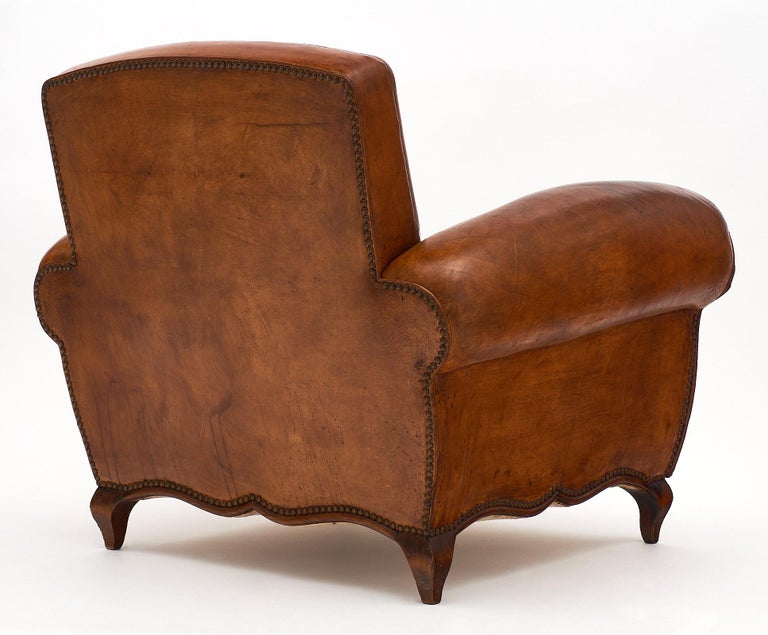 Vintage Art Deco French Club Chair For Sale At 1stdibs