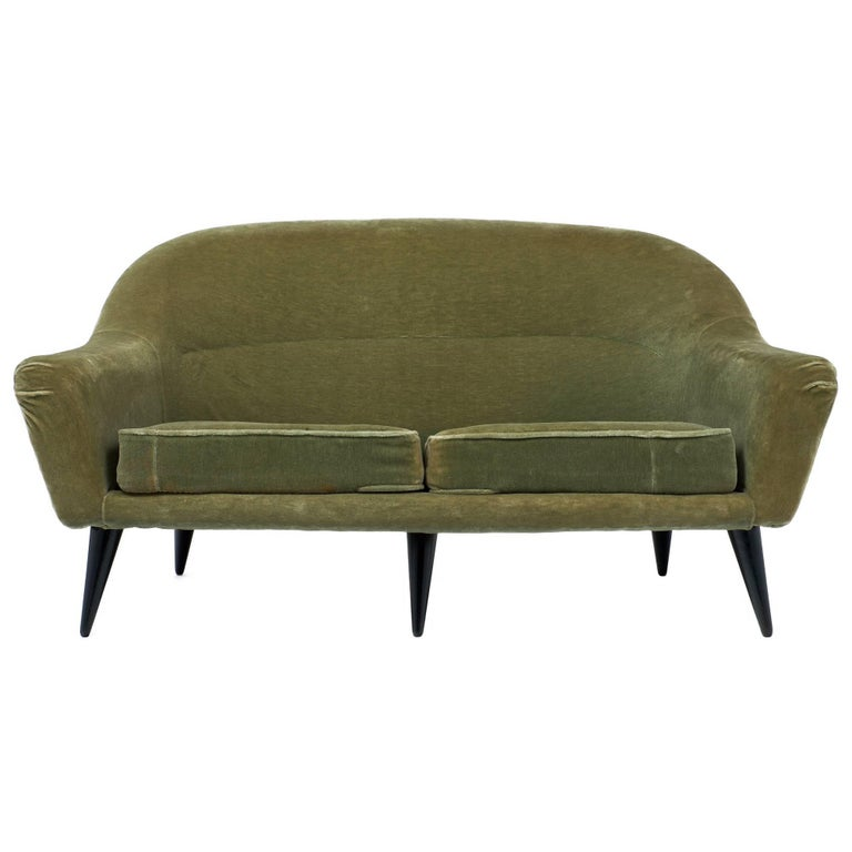 Vintage Art Deco French Sofa For