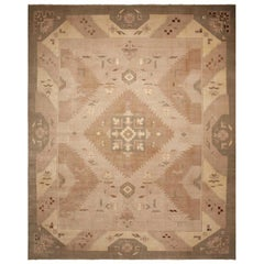 Vintage Art Deco Indian Rug. Size: 15 ft 6 in x 19 ft 6 in (4.72 m x 5.94 m)